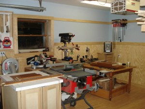 A view of the Kyserike Kraftsman's workshop