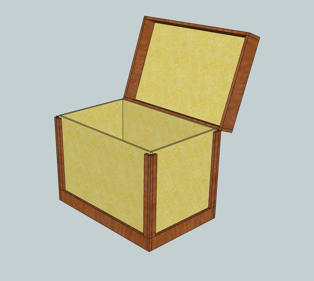 First view of the tack trunk design