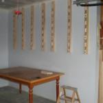 New lumber storage rack