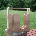 Completed Wrap Holder ready for staining.