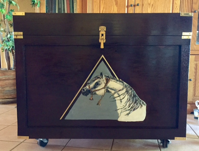 Tack trunk created by Greg from Texas